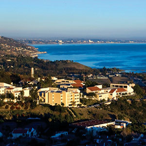 View of the Malibu campus - Pepperdine GSEP