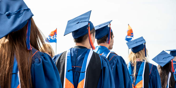GSEP graduates at commencement ceremony - Pepperdine GSEP