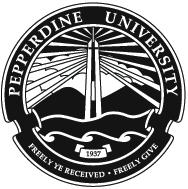 Official seal and motto of Pepperdine GSEP