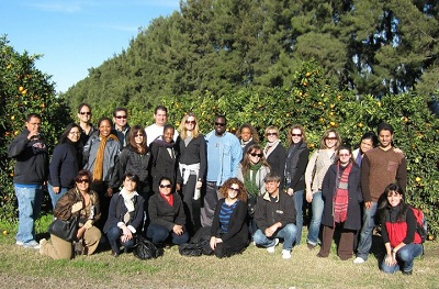 Group photo at a plantation during 2011 Argentina trip - Pepperdine GSEP