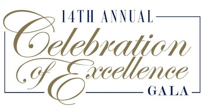 14th annual Celebration of Excellence wordmark - Pepperdine GSEP