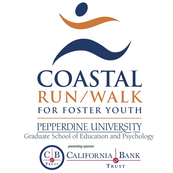 Coastal Run/Walk for Foster Youth wordmark - Pepperdine GSEP