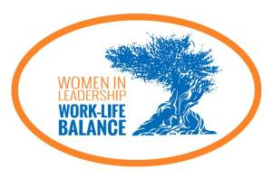 Women In Leadership: Work-Life Balance wordmark - Pepperdine GSEP