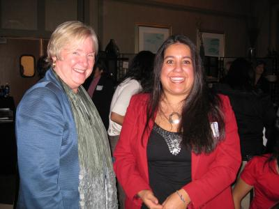 Two women at CABE 2009 event - Pepperdine GSEP