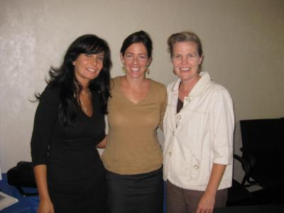 Three women at Clinical Connections - Pepperdine GSEP