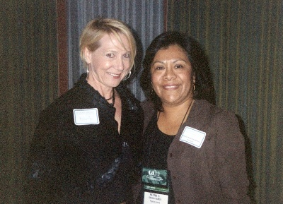 Two women at CABE 2008 event - Pepperdine GSEP