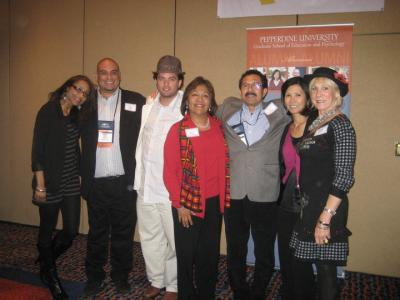 Diverse crowd at CABE 2011 event - Pepperdine GSEP