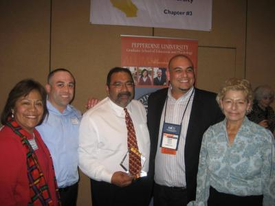 Group picture at CABE 2011 event - Pepperdine GSEP