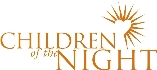 Children of the Night wordmark - Pepperdine GSEP