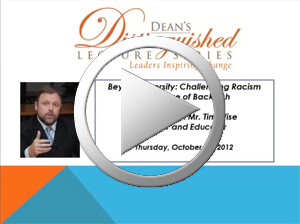 Deans Distinguished Lecture Series: Tim Wise