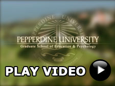 Play Video button - Pepperdine GSEP