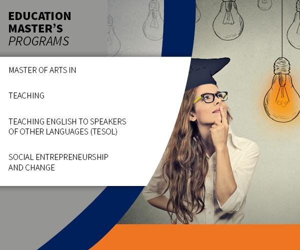 Education Master's Programs