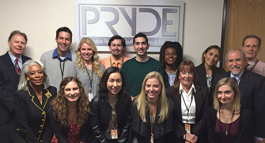 PRYDE group photo - Pepperdine GSEP